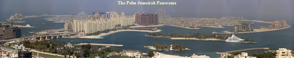 The Palm Jumeirah Panorama